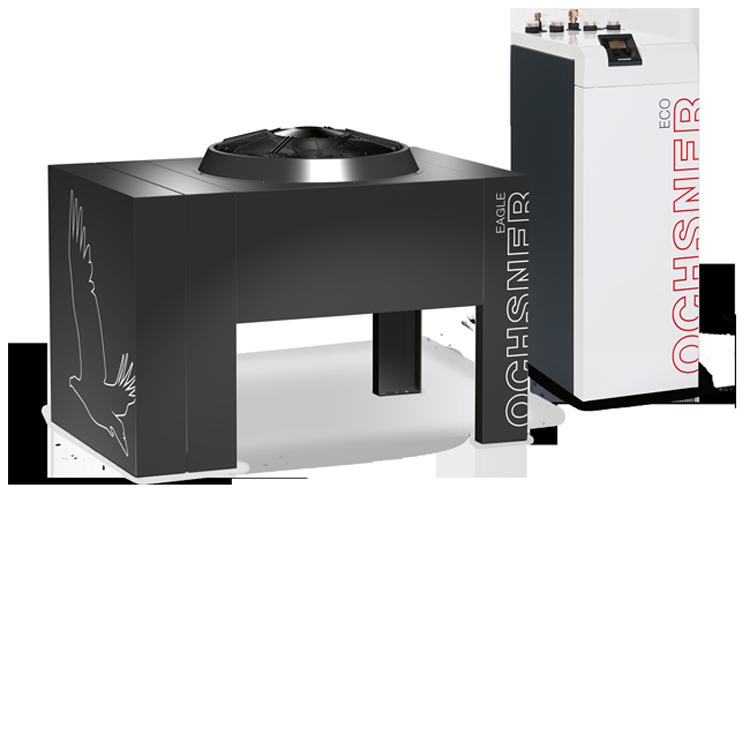 Chauffage concept distribution pompe a chaleur