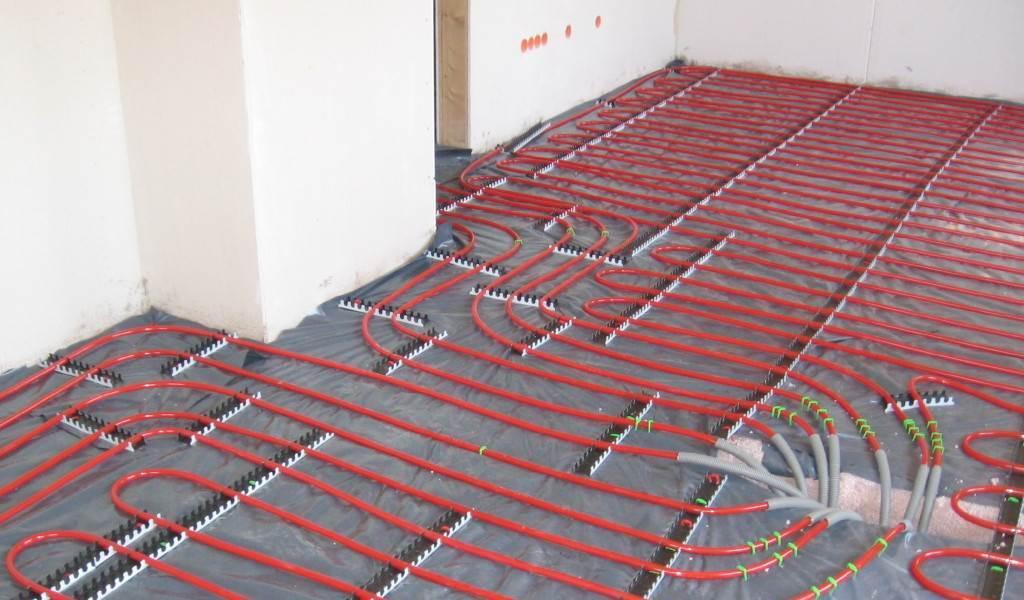 Chauffage concept distribution plafond et plancher chauffant