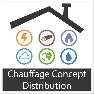 chauffage concept distribution